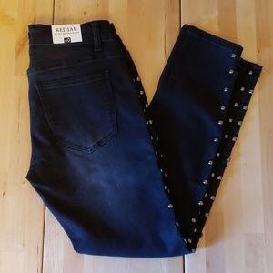 Redial Studs Skinny Jeans